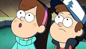 gravity falls between the pines